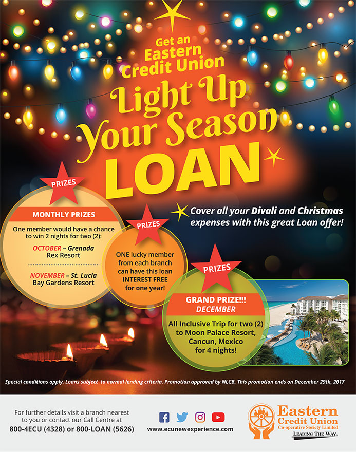 Christmas Loan Promotions.Light Up Your Season Loan Promotion Eastern Credit Union