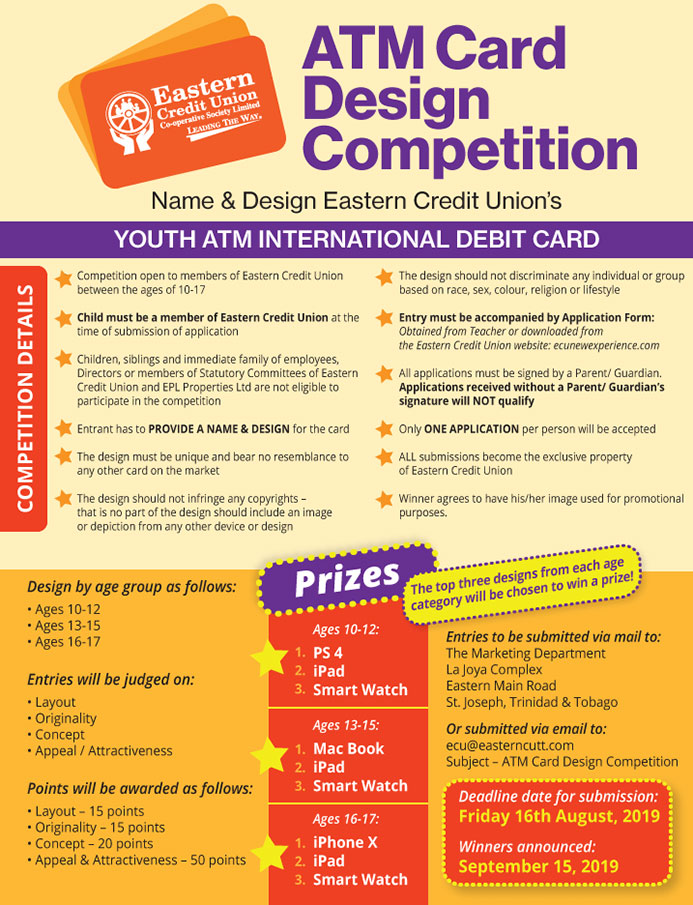ECU ATM Card Design Competition 2019