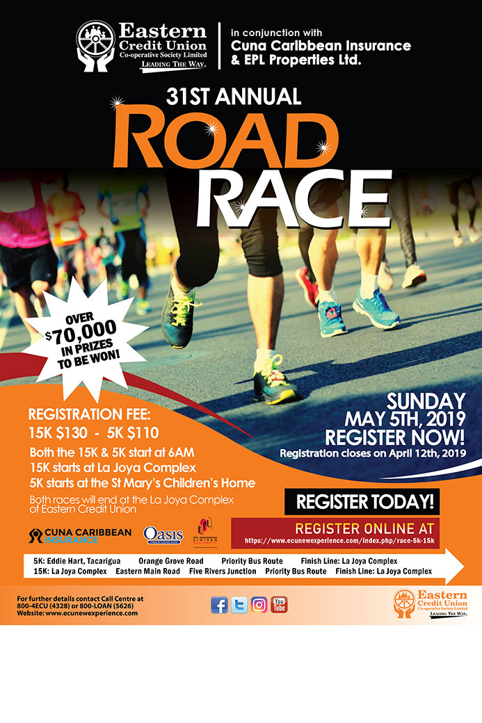 Eastern Credit Union Race 5K & 15K 2019